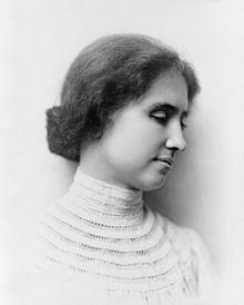 Helen Keller portrait, 1904.