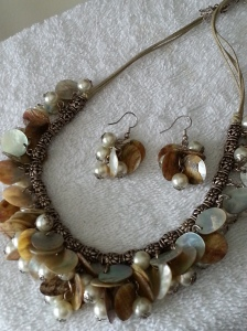 Shells & Pearl Necklace