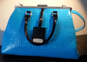Blue handbag from sammydress.com