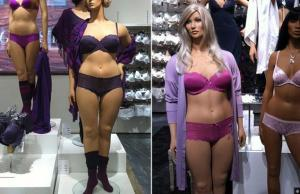 Images of full-figured mannequins from swedishmannequins.com
