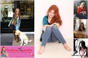 Collage of 6 Images of Emily Davison Fashioneyesta.com