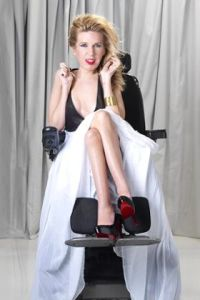 Model Danielle Sheypuk 'People with disabilities are consumers of fashion' Photograph: Peter Hurley