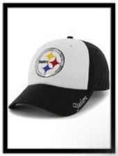 Pittsburgh Steelers 47 Brand Women's Sparkle Adjustable Hat embroidery with sequins
