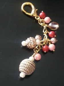 Coral cane charm www.brailledesign.com