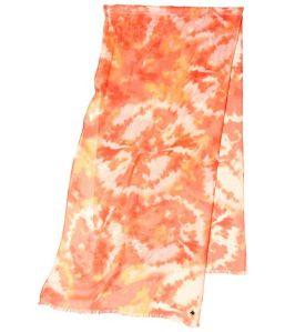 Calvin Klein Tie Dye Print Scarf Scarves