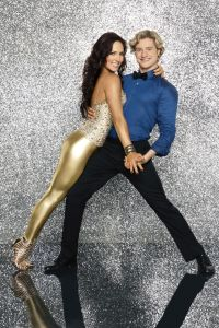 Dancing With The Stars Olympic Gold Medalist Charlie White partners with Sharna Burgess!