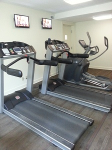2 Treadmills & 1 Elliptical Machine