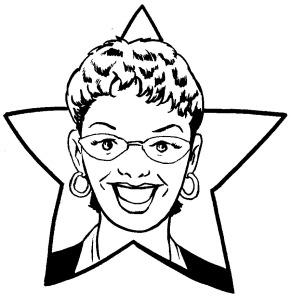 Steph McCoy Caricature