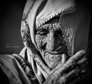 Picture of an elderly woman Pinterest via inspirefirst.com