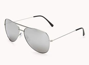 F4374 Iconic Aviator Sunglasses Forever 21