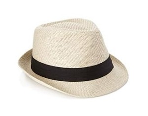 Iconic Straw Fedora