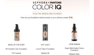 Image of 3 foundations from my personal Color IQ