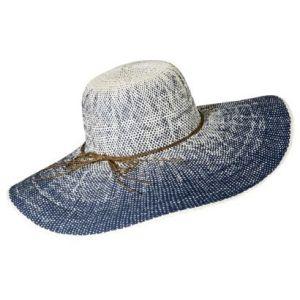 Merona® Floppy Hat with Brown Tie - Blue Target