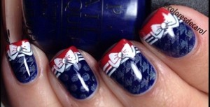 Red, White & Blue Bows coloresdecarol via Pinterest