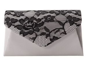 Jessica McClintock Lace Envelope Clutch Handbags from 6pm.com
