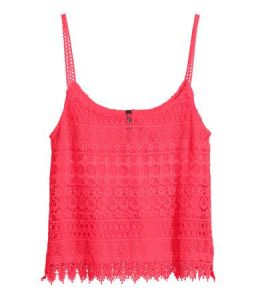 Lace Camisole Top from H&M