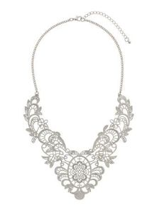 Lace Cut-out Necklace from Dorothy Perkins