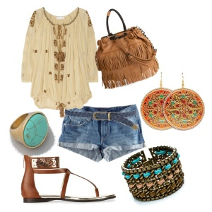 Boho outfit from Pinterest