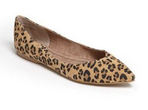 'Moveover' Pointy Toe Flat Nordstrum