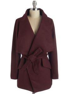 Preferred Pairing Coat Modcloth