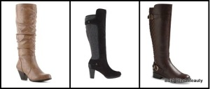 Boots Under $50 - Left to right: Cliffs by White Mountain Petal Boot, Bella-Vita Walker & Colleen Quilted Tall Boots