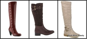 Boots Under $100: Left to Right Crown Vintage Lani Boot, LAUREN by Ralph Lauren Maren Wide Calf and Hailey Jeans Co. Women's Fashion Boots