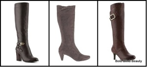 Boots Under $150: Left to Right Tahari Felix Boot, Tsubo Faline and Rockport Seven To 7 Boot