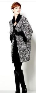 #2 MarlaWynne Stipple Knit Statement Sweater