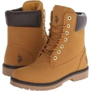 US Polo Assn 2-Rudy found on Polyvore. These boots look more like Timberlands though they almost resemble the ones Mollie chewed except these ones are tan in color.