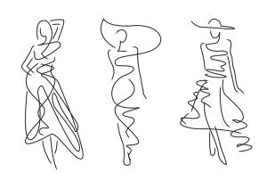 Raw sketch of 3 models