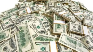 Image of a pile of money
