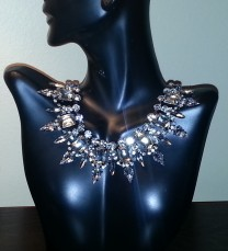 Crystal Feather Necklace Shop Lately