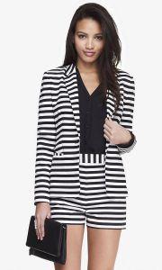 02-19-15 24 inch horiztontal stripe knit blazer