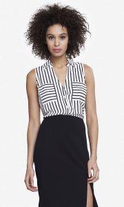 02-19-15 Striped sleeveless portofino shirt