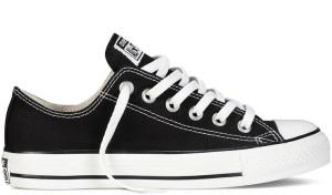 Chuck Taylor Classic Colors Black Low Top
