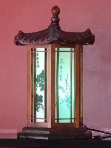 Korean Pagoda Lamp