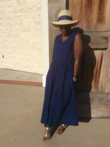 Blue Dress 007