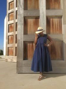 Blue Dress 017