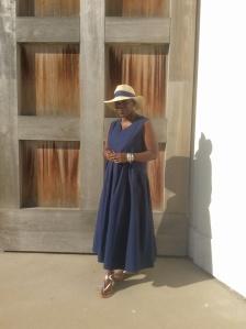 Blue Dress 021
