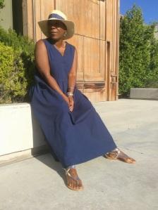 Blue Dress 028