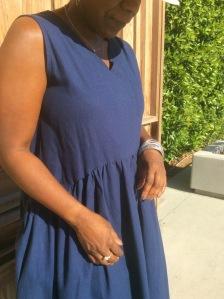 Blue Dress 038