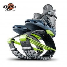 Standard XR series unisex Kangoo model with lime Green T-spring