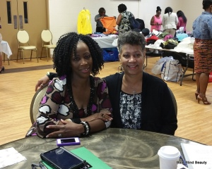 Photo of my table mates (Cynthia M. Howell and CJ Jackson)