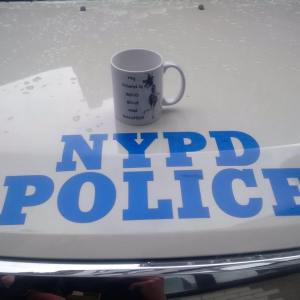 #4 - NYPD Police Cruiser with Abigail Style Mug